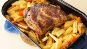 Topinambur-al-forno-con-carne